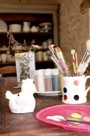 Le Caillau Restaurant, also has pottery painting for children, you can also enjoy a wonderful meal on the courtyard in the summertime or in their new fabulous restaurant for 2016 👍
