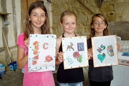 Silk painting workshops for all ages!