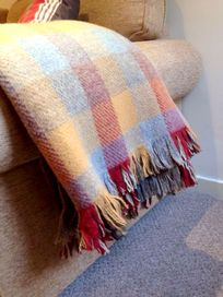 Cozy tartan throws