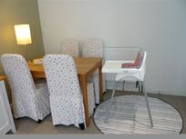 Highchair and splashmat