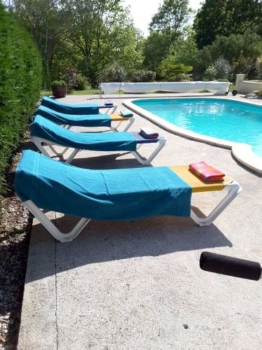 Sun beds are waiting for our guests to enjoy the sunshine and relax!