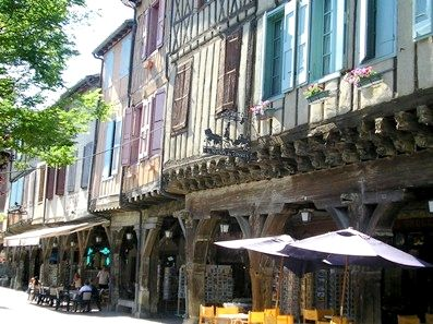 Medieval Mirepoix, 14km, the best market in the region.