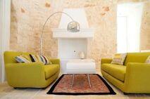 Cool sitting room - in both senses