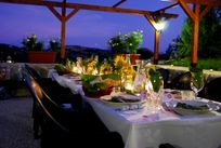 Romantic dining at our restaurant