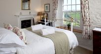 The Master Bedroom - This room as stunning views down the valley.