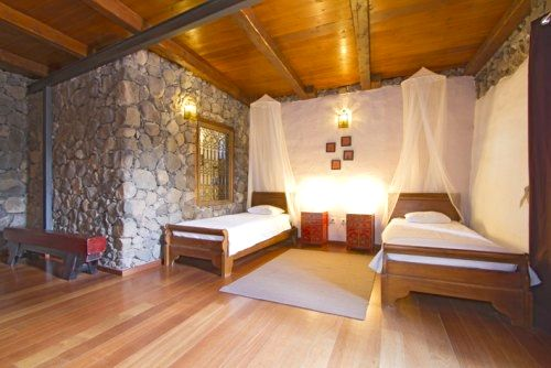 Eco Luxury Villa Twin Bedroom