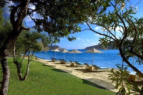 Domes of Elounda-Premium Suite Garden View Image 1