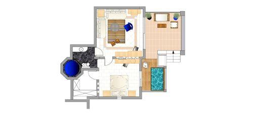 Domes of Elounda-Premium Suite Garden View Image 8