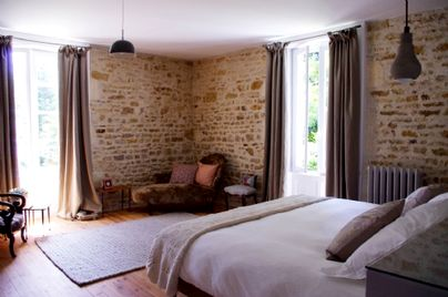 Family Friendly Holidays at Manoir du Moulin - Wisteria Suite