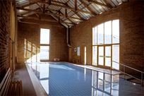 Cranmer Country Cottages luxury indoor swimming pool