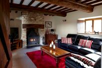 Cosy lounge with stove