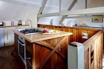 Kitchen complete with Nespresso machine