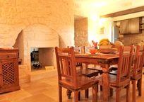 Rustic Trullo Kitchen/Breakfast Room