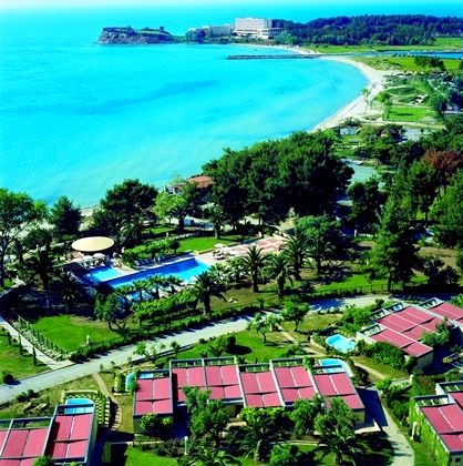 Sani Club - Deluxe Double with Private Garden & Sea View Image 12