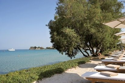 Sani Club - Deluxe Double with Private Garden & Sea View Image 11