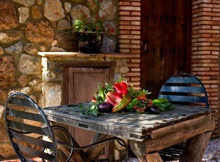 El Buho private terrace
