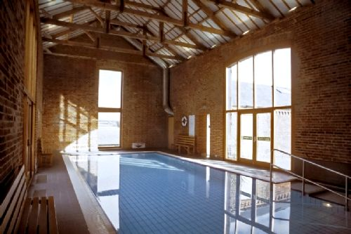 The pool at Cranmer