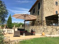 Villa Bastiola with sun terrace and 2 loggias both with table and chairs