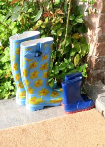 Wellies Outside Ivy