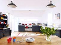 Large open plan kitchen/diner