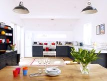 Large open plan kitchen/diner