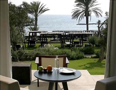 Family Friendly Holidays at Almyra - Terrace Sea View Room