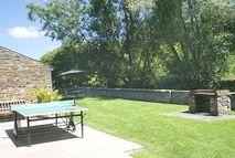BBQ in the walled garden