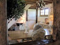 Dining room - for laid back breakfasts, languid lunches and serene candlelit suppers.