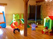 Toddler Corner in the indoor play house