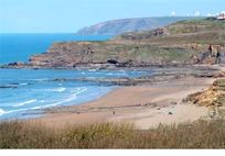 Widemouth Bay, perfect for surfing and bodyboarding