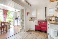 The kitchen with Rayburn Aga