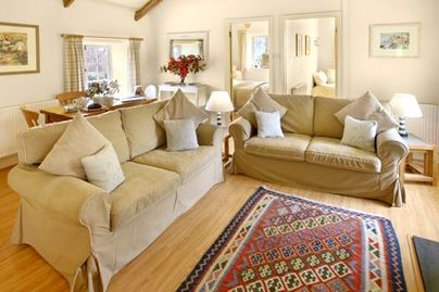 Family Friendly Holidays at Glynn Barton Cottages - Store House (Sleeps 4 + Cot)