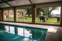 12m Indoor biomass heated swimming pool
