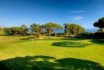 Algarve Pine Cliffs golf course 5th tee