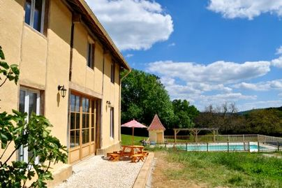 Family Friendly Holidays at St Pompon - Rose Barn - Sol du Mazel