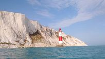 Beachy Head Lighthouse, Eastbourne only 15 minutes drive from Lamb's Knees