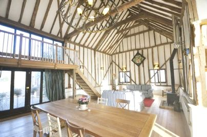 Family Friendly Holidays at Partridge Lodge - The Dairy Hall