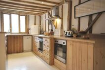 Kitchen with two ovens
