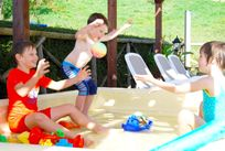 THE HEATED SPLASH POOL - GREAT FOR TOTS