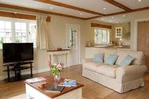 Lounge, complete with underfloor heating