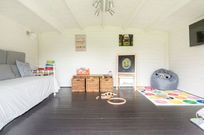 Toys, games, space, TV and WiFi all in a heated Playhouse