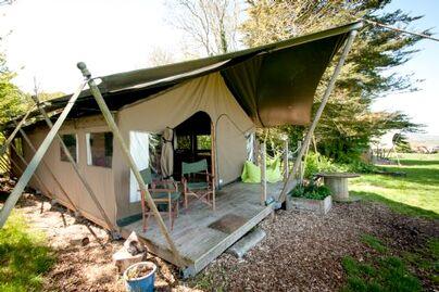 Family Friendly Holidays at Tapnell Farm - Safari Tent 3