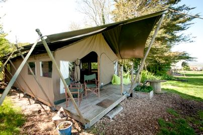 Family Friendly Holidays at Tapnell Farm - Safari Tent 4