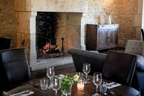 Open fire for cosy winter months