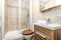 Taliesin shower room with underfloor heating