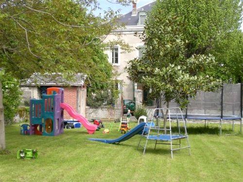 Large walled childrens garden