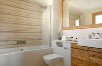 The en-suite bathrooms - all 3 bedrooms have the same high standard bathroom