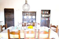 Villetta dining - inside or out - plenty of space