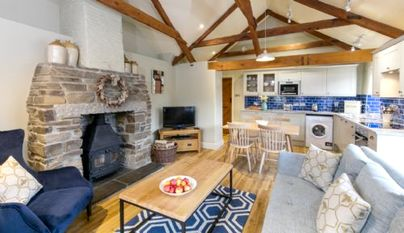 Family Friendly Holidays at Tredethick Farm Cottages - Dairy