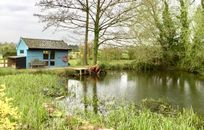 Boat house with fishing stay and antiques shop